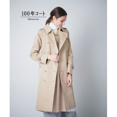 【サンヨーコート】 <100年コート>クラシックトレンチコート(三陽格子) レディース ベージュ 36 SANYOCOAT