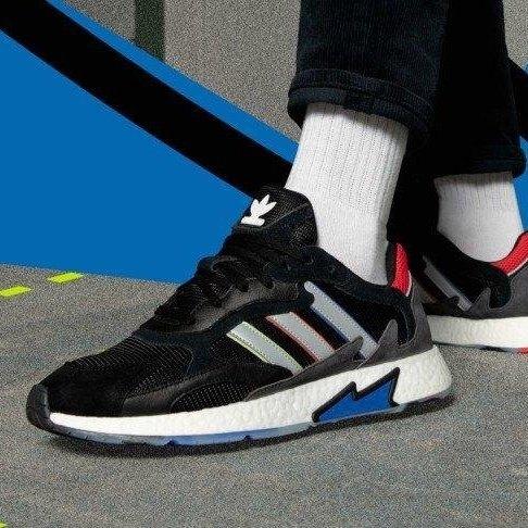 【日本海外代購】Adidas TRESC RUN 色彩 編織 輕量 復古 黑色 運動鞋 慢跑鞋 情侶 男女鞋 EF0797