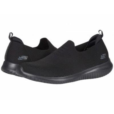 SKECHERS スケッチャーズ レディース 女性用 シューズ 靴 スニーカー 運動靴 Ultra Flex Harmonious Black 3【送料無料】