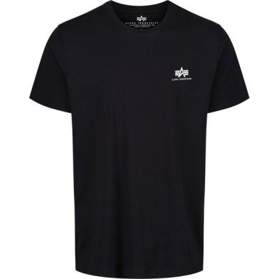 アルファ インダストリーズ Alpha Industries メンズ Tシャツ トップス Small Logo T-Shirt Black