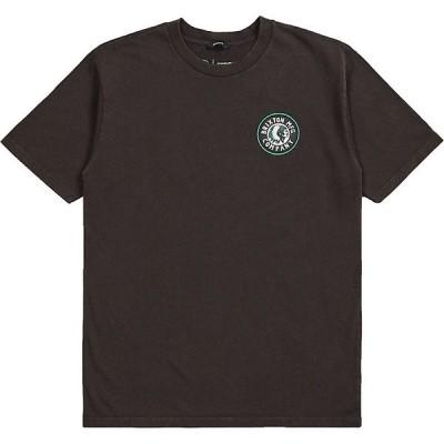 ブリクストン Tシャツ メンズ トップス Brixton Men's Rival II SS Tee Washed Black