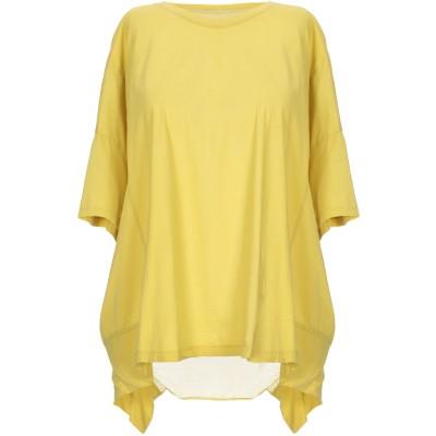 EUROPEAN CULTURE T シャツ ビタミングリーン XXL コットン 90% / シルク 10% T シャツ