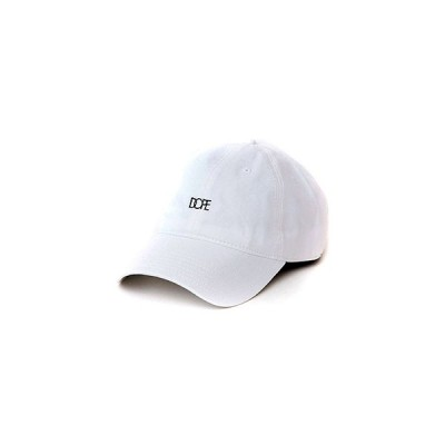 ドープ DOPE ロゴキャップ SMALL LOGO CAP -WHITE- メンズ 男女兼用 ホワイト
