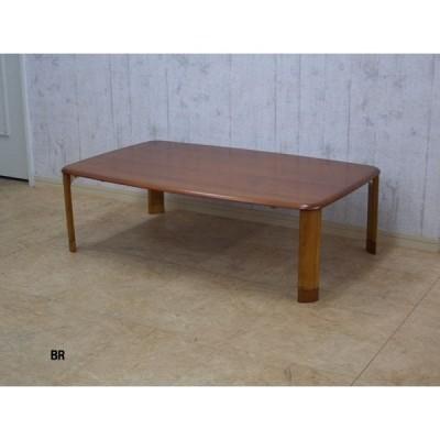 継脚付折畳テーブル 120x75x32/37