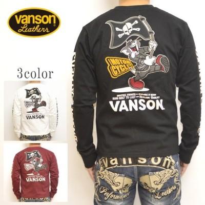 バンソン VANSON TOM and JERRY TJV-2001 天竺 長袖Tシャツ ロンT トム&ジェリー トップス メンズ