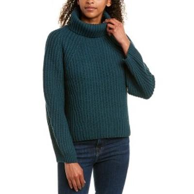 ブローシュウォーカー レディース ニット&セーター アウター BROCHU WALKER Wool & Cashmere-Blend Sweater forestry