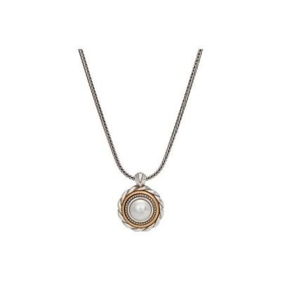 ブライトン レディース ネックレス・チョーカー・ペンダントトップ アクセサリー Meridian Golden Pearl Short Necklace