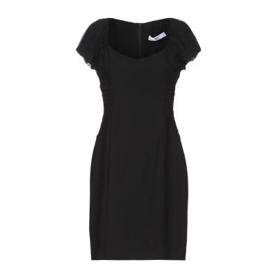 X'S MILANO ミニワンピース&ドレス ブラック 42 ポリエステル 100% ミニワンピース&ドレス