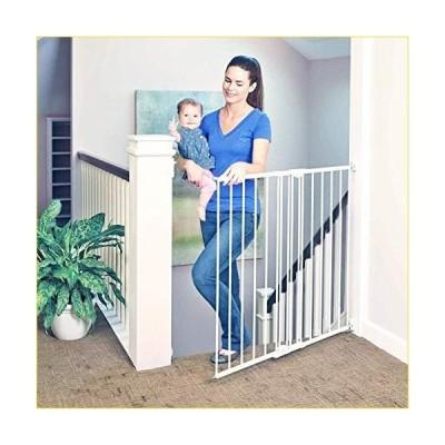 North States Supergate Tall Easy Swing and Lock Gate, Linen by North States Industries [並行輸入品]
