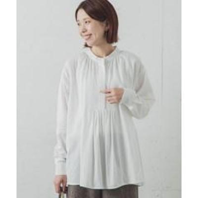 アーバンリサーチサニーレーベルフレアヘムギャザーシャツ【お取り寄せ商品】