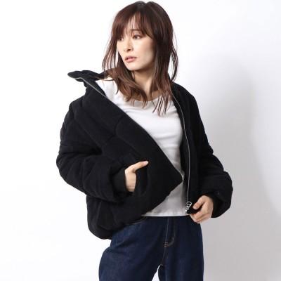 スタイルブロック STYLEBLOCK コーデュロイ中綿ジャケット (ブラック)