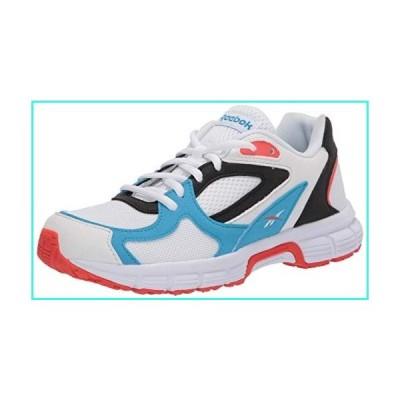 【新品】Reebok Royal Run Finish 2 Sneaker, White/California Blue/Vivid Orange, 13 M US(並行輸入品)