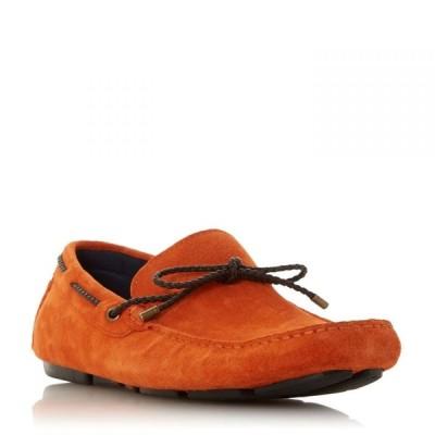 デューン Dune London レディース シューズ・靴 Brandstable Plait Lace Driver Shoes Orange