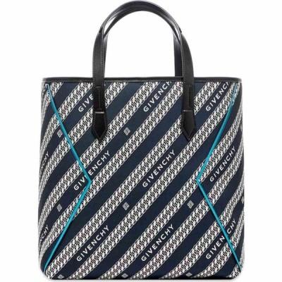 ジバンシー Givenchy メンズ トートバッグ バッグ 4G Chains Jacquard Logo Tote Bag Oil Blue
