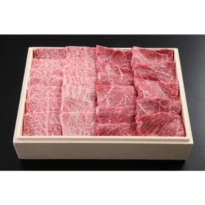 飛騨牛A5等級 サーロイン焼肉+赤身(上)焼肉 ハーフセット400g