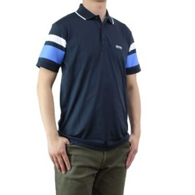新品 ヒューゴ ボス HUGO BOSS PADDY 5 メンズ ポロシャツ 50329638 10175216 410 ネイビー系 メンズ 半袖 ゴルフウェア
