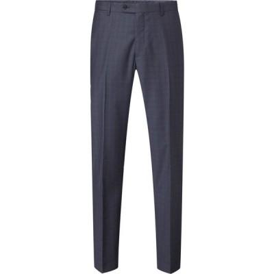 スコープス Skopes メンズ スラックス ボトムス・パンツ Irvine Wool Suit Trouser Navy