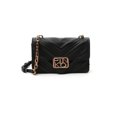 ピンコ レディース ショルダーバッグ バッグ Pinkp Mini Logo Crossbody Bag -