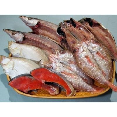 塩紅鮭と島根の干物セット