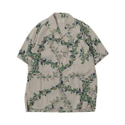 シャツ ブラウス [SPELLBOUND / スペルバウンド] アロハプリント SSオープンカラーシャツ