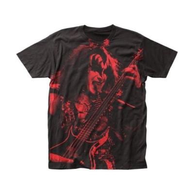 海外ドラマ キャラ メンズ Tシャツ キス Kiss - Gene Simmons Officially Licensed Adult T Shirt
