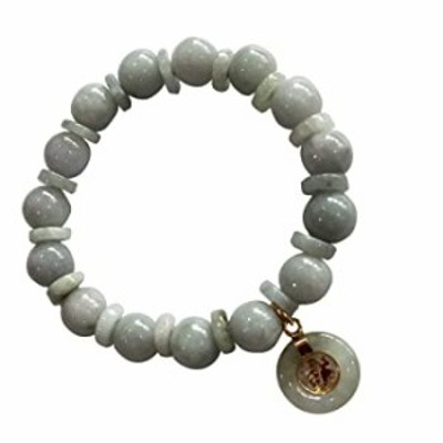 Natural Green Stone Real Bracelets with Green Lucky Coin To Prosperity for Women Charms Luck Success Promote Love Wealth in Life