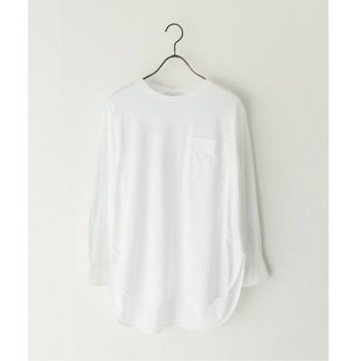 tシャツ Tシャツ 【NEU】ナノシアテンジクヘムラウンドティー