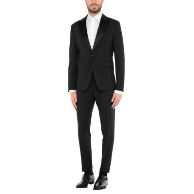 ディースクエアード DSQUARED2 スーツ ブラック 48 バージンウール 95% / ポリウレタン 5% / シルク / ポリエステル スーツ