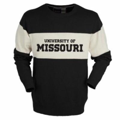 Bruzer ブルーザー スポーツ用品  Bruzer Missouri Tigers Black Bar Down Crew Neck Sweater