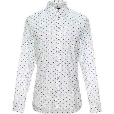 パトリツィア ペペ PATRIZIA PEPE メンズ シャツ トップス patterned shirt White