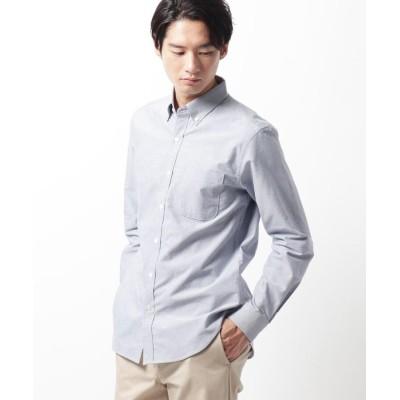 THE SHOP TK(Men)(ザ ショップ ティーケー(メンズ)) 【抗菌防臭】MADE IN 長崎ボタンダウンオックスシャツ