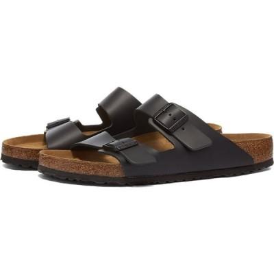ビルケンシュトック Birkenstock メンズ サンダル シューズ・靴 arizona Black Smooth Leather