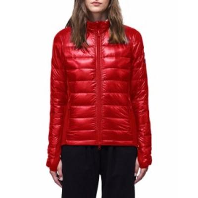 カナダグース レディース コート アウター Hybridge® Lite Jacket RED
