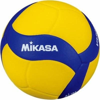 ミカサ(MIKASA) バレーボール 視覚障害者用 5号 鈴入り 黄/青 V330W-BL 【バレー 5号球】