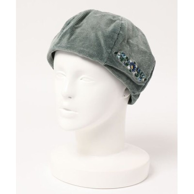 NO WAY / 【W】【JABURO】CORDUROY DAMAGE BERE WOMEN 帽子 > ハンチング/ベレー帽