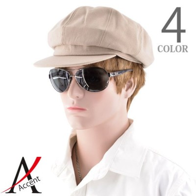キャスケット 帽子 メンズ カラーソフト キャスケット サイズ調整可能