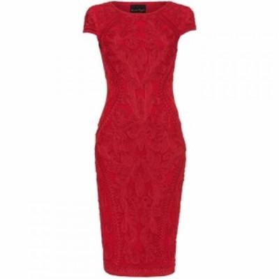 フェーズ エイト Phase Eight レディース ワンピース ワンピース・ドレス Perdy Tapework Dress Scarlet