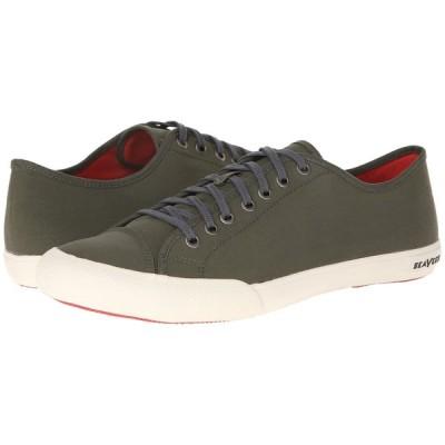 シービーズ SeaVees メンズ スニーカー シューズ・靴 Army Issue Low Classic Military Olive