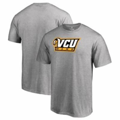 Fanatics Branded ファナティクス ブランド スポーツ用品  Fanatics Branded VCU Rams Ash Primary Team Logo T-Shirt