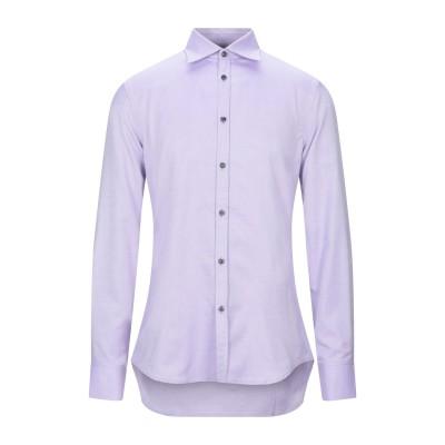 ディースクエアード DSQUARED2 シャツ ライトパープル 50 コットン 100% シャツ
