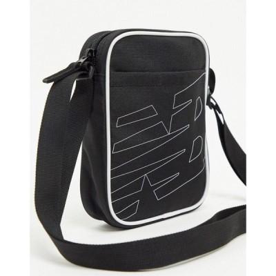 ニューバランス New Balance レディース ショルダーバッグ バッグ classic crossbody bag in black ブラック
