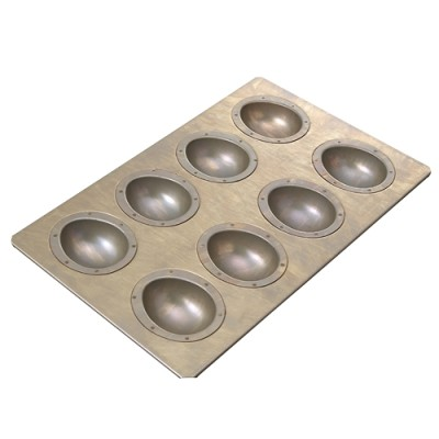 * cuoca×CHIYODAエッグ8個型 / 1個 お菓子・パン作りの型 お菓子作りの型