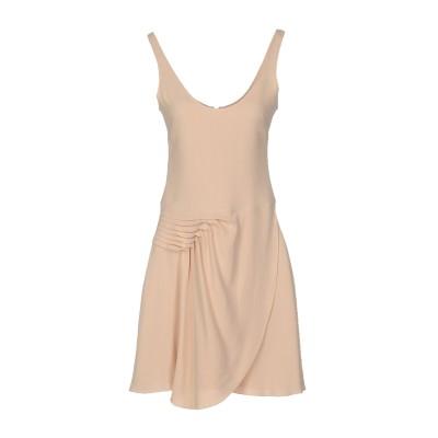エンポリオ アルマーニ EMPORIO ARMANI ミニワンピース&ドレス あんず色 46 アセテート 73% / レーヨン 27% ミニワンピー