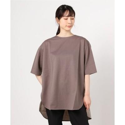 tシャツ Tシャツ SUGAR ROSE/シュガー ローズ/異素材ドッキングプルオーバー