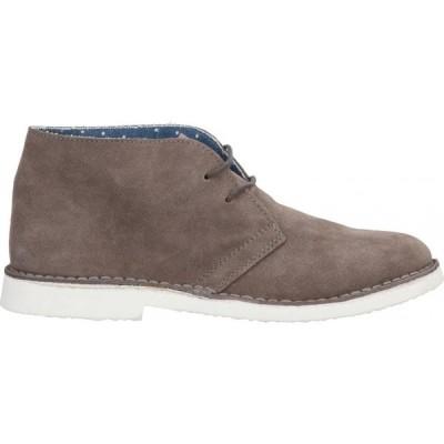 FRATELLI BENEDI メンズ ブーツ シューズ・靴 boots Dove grey
