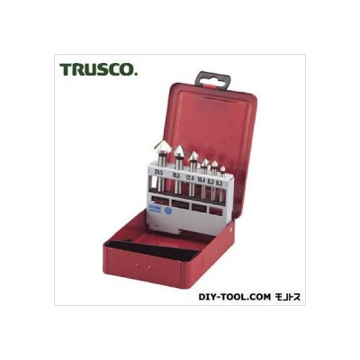 トラスコ(TRUSCO) カウンターシンクセットコバルトハイス6本組 170 x 114 x 41 mm TSCS 6本