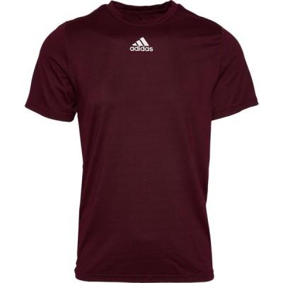 アディダス メンズ Tシャツ adidas Team Creator Short Sleeve T-Shirt - Maroon