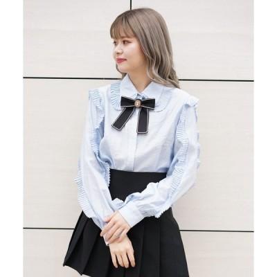 シャツ ブラウス SisterJane/シスタージェーン/Ivy Trail Bow Shirt