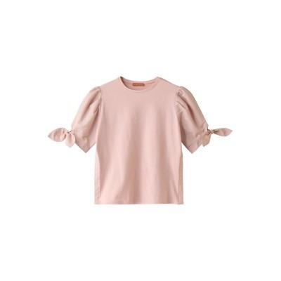 AMICA・kids アミカキッズ 【マタニティ】リボンTシャツ レディース ピンク F