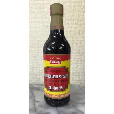 【中国】 海天牌醤油 (生抽王) 500ml